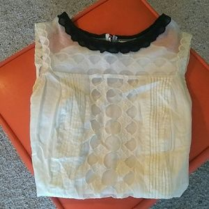 Sexy Anthropologie Postmark top.